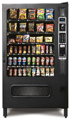 Combo Vending Machine for Snacks and Drinks