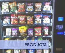 Snacks and Drinks for Vending Machines