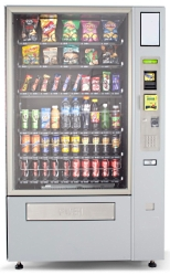 Vending Machine Combo for Snacks and Drinks
