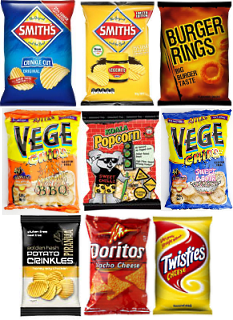 Vending Machine Snacks Chips
